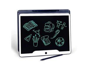 15 inch LCD Writing Tablet  Office Electronic Blackboard Digital Memo Notepad Handwriting Tablet Paperless MessageDrawing Board for SchoolHome Dark Blue