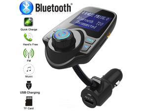 Car Charger USB Car Cigarette Lighter Adapter Chargers Wireless In-Car Bluetooth FM Transmitter MP3 Radio Adapter Car Kit USB Charger