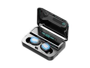 Balight Mini Earbuds 8D HiFi CVC8.0 Noise Cancelling Bluetooth 5.0 Earphones TWS Sport Waterproof Headphones Deep Bass Sound Cordless Bank Dual Headsets With Power Bank Chaging Case 1200mAh/3500mAh