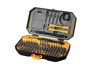 JAKEMY 145 Piece High Quality Precision Screwdriver Set Computer Repair Tool Kits Electronics Maintenance Tools for iPhone, iPad, Cell Phone,Tablet PC, Laptop,Computer,Clock,Watch and more