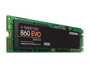 SAMSUNG 860 EVO Series M.2 2280 250GB/500GB/1TB/2TB SATA III V-NAND 3-bit MLC Internal Solid State Drive (SSD) MZ-N6E