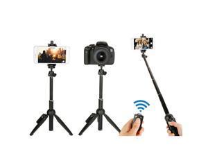 Wireless Bluetooth Flexible Selfie Stick Tripod Bracket Holder Mount Universal Cell Phone Tripod