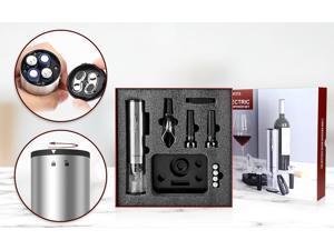 1 Set Air Pump Wine Bottle Opener Air Pressure Vacuum Wine Stopper Beer Lid Opener Corkscrew Corks Out Tool Stainless Steel Pins