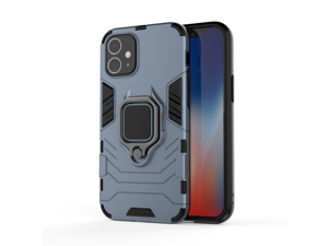 Compatible Phone 12 Case 2021 Tough Military Grade Dual-Layer Kickstand Cover [Shockproof] [Full-Body Protective Cover] [Dust-Proof] Compatible for Phone 12/12 Pro