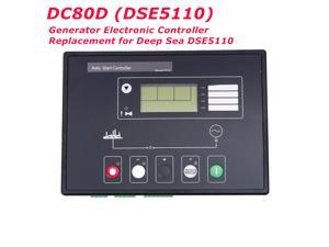 MEBAY DC80D Auto Start Generator Electronic Controller Control Module Replacement  for DSE5110 Deep Sea