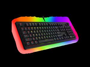 Tecware Spectre Pro, RGB Mechanical Keyboard, RGB LED, Volume Wheel, Underglow, Outemu Red Switch