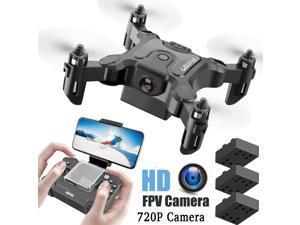 -V2 Mini Foldable Wifi FPV RC Camera 2.4G RC Quadcopter Drone Toys Gift