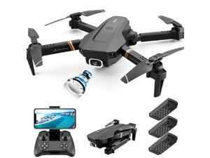 Best Camera Drone 4K HD Dual Camera Follow Me Quadrocopter FPV WiFi Hot Sell