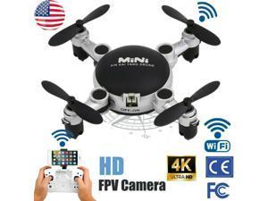 Mini WIFI Camera Drone FPV W/HD Camera Foldable Arm RC Quadcopter Toy WF