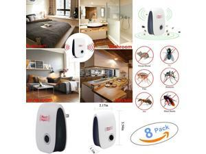 8x Ultrasonic Electronic Anti Mosquito Pest Bug Insect Cockroach Repeller Reject