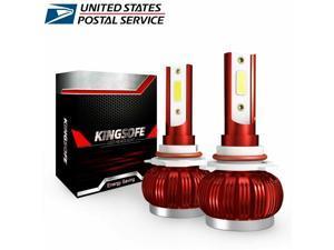 2x 9005   LED Headlight Bulb Conversion Kit High Beam 6000K White Light