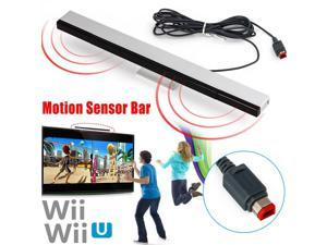 Wired Remote Motion Sensor Bar IR Infrared Ray Inductor for  Wii U / Wii