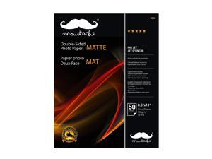 """® 2-Sided Photo Paper, 8.5"""" x 11"""", 50 Sheets/Pack, 300gsm"""