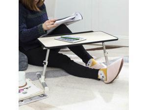 "Adjustable Portable Standing Desk Laptop Bed Table for 17"" Laptop -  ®"