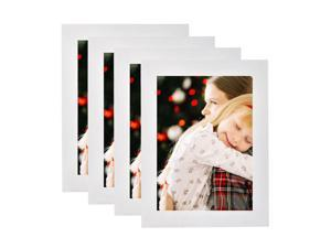 """® 5"""" x 7"""" Decor Picture Frame, Table Stand or Wall Mounted,4/Pack"""
