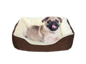 Rectangular Soft Pet Bed Sofa for Cats  Dogs, Small Dog Bed
