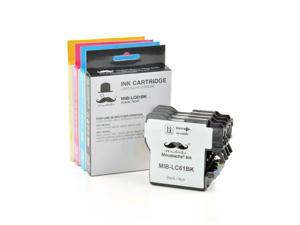 ® LC61 Ink Cartridge Combo BK/C/M/Y For Brother 165C 375CW 385CW 395CN