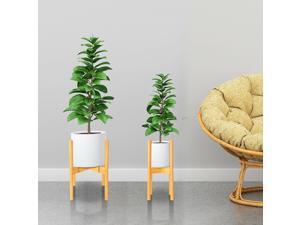 Adjustable Plant Stand In/Outdoor Po Garden Planter Flower Pot Stand Shelf