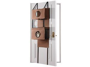® Door mounted cat house Hanging Funny Hole - stable Kitty furniture