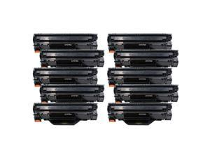10PK 79A CF279A Black Toner Cartridge For  LaserJet Pro M12w M26 M26nw