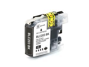 LC203BK Black Ink Cartridge For Brother MFC-J4320DW J4420DW J460DW J885DW J680DW