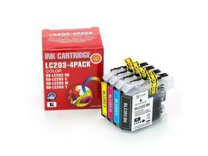 4PK ink for Brother LC203 MFC-J480DW MFC-J485DW MFC-J5520DW MFC-J5620DW