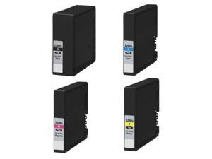 4PK Pigment Ink for  PGI-2200XL MB5020 MB5120 MB5320 iB4020 iB4120 MB5420