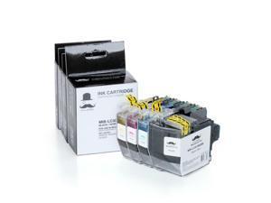 Set of 4 LC3013C LC3013Y LC3013M LC3013BK Ink Cartridge For Brother MFC-J491DW