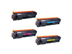 4PK 204A CF510A CF511A CF512A CF513A Toner Cartridge For  M154a M180 M181fw