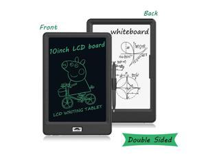 10-Inch Double-Sided LCD Writing Tablet,Erasable Portable Doodle Board-Moustache
