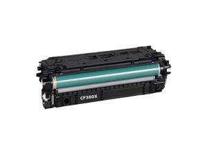 508X CF360X Black Toner Cartridge 12500 Pages For  M533X M552dn M553dn M553n