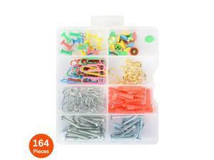 ® Household Repair and Hanging Assortment Set Kit 164 Pcs/Pack