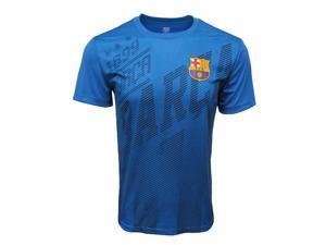 FC BARCELONA Official Merchandise Men's Short Sleeve Jersey Sports T-Shirt