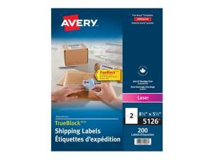 ® Shipping Permanent Adhesive Laser Labels