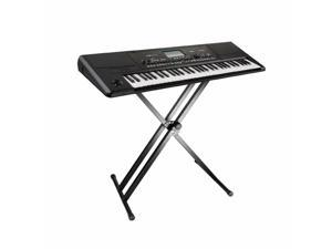 Home Metal Music Keyboard Electronic Piano Dual Tube X Stand Standard Rack
