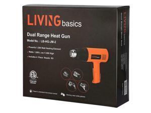 Home Gardeen Air Heat  Dual Temperature Paint Stripper DIY Tool + 4 Nozzle