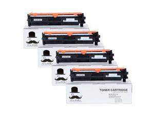 4PK 17A CF217A Black Toner Cartridge With Chip For  LaserJet Pro MFP M130fw