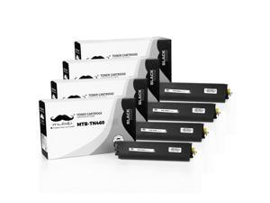® 4PK TN460 TN430 Black Toner Cartridge For Brother HL-1270N 1250 8500