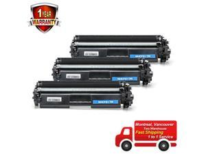 3 PK CF217A Compble Toner For  17A LaserJet Pro M102 M130fn WITH NO CHIP