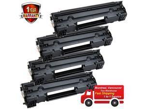 4PK Toner for  83A CF283A LaserJet Pro MFP M125nw M125rnw M127fn M127fw
