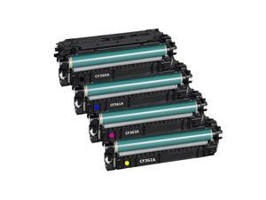 508A CF360A CF361A CF363A CF362A Toner Cartridge Combo BK/C/M/Y For  M533X