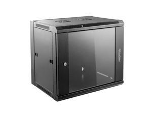 Home Office Living 6U Wall-Mounted Network Server Data Cabinet   ®
