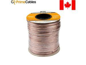® 300ft Car Home Audio 14 Gauge AWG Speaker Wire Clear Copper Cable