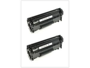 2pk Toner for  12A Q2612A 1022n 1022nw 3052 3055 M1319f M1319 1018 1020