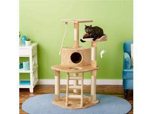 """50"""" Cat Tree Condo House Furniture Scratching Post with Toy -  ™"""