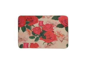 Non-Slip Rubber Backing Kitchen Mat, Flower