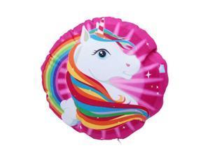 "Unicorn Stuffed Cushion Decorve Throw Pillow with Zipper 11.8"" 1Pack"