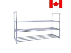 NEW Shoes Rack Organizer 3-Tier Shoe Storage Bench Closet Cabinet Entryway
