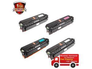 Set of 4 CLT-504S BK/C/M/Y Toner Cartridge For  CLP-415NW CLX-4195FN