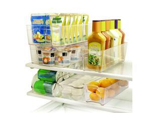 ® 6PK Refrigerator Pantry Storage Fridge and Freezer Drawer Organizers